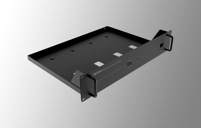 RACK MOUNT PSU SHELF BLACK
