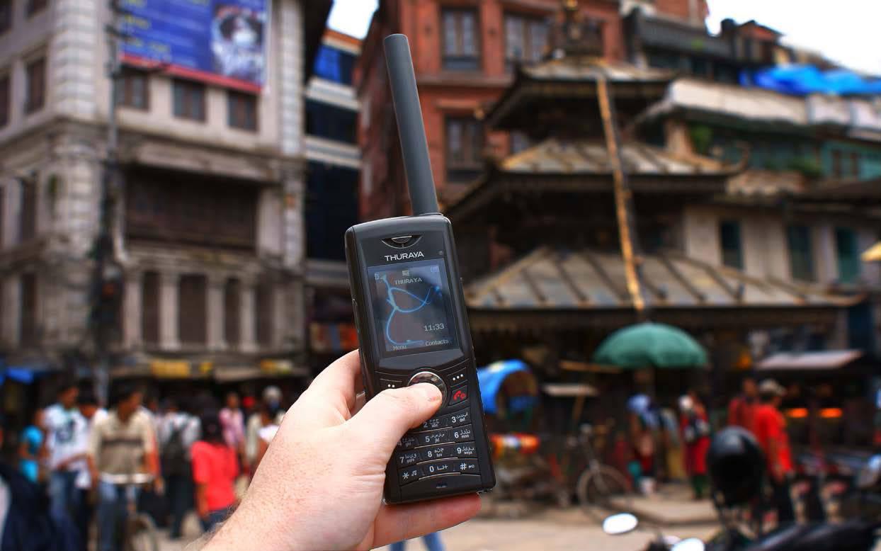 THURAYA XT: SATELLITE TELEPHONE