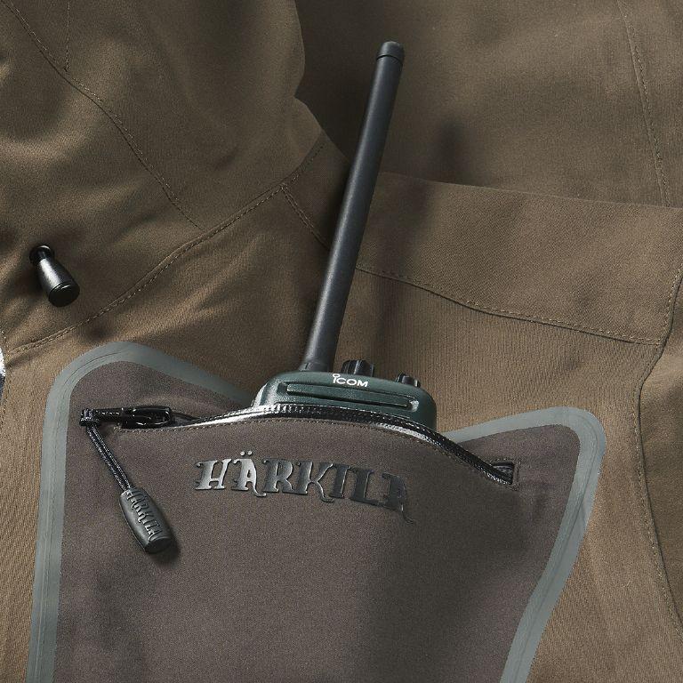 Turek jacket - Hunting Green/Shadow Brown