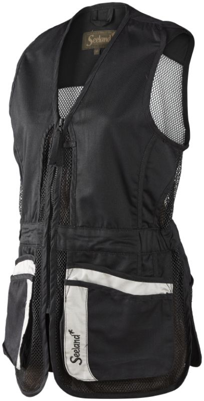Tupelo Lady waistcoat - Black
