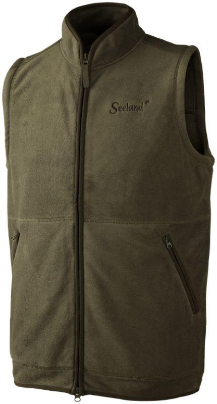 Bolton fleece waistcoat - Pine Green