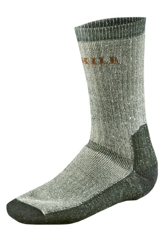 Expedition sock - Grey/Green