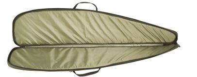 Rifle slip w/foam - Green/Brown - 125 Cm