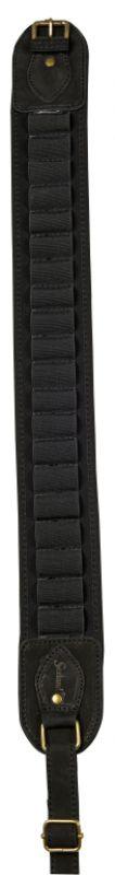 Cartridge belt - W/neoprene - Black