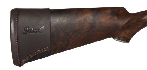 Stock extension in leather - Brown - F/shotgun