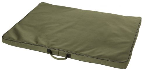 Dog mattress in green - PU Coated Ribstop - 96 X 70 Cm