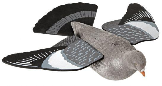 Decoy, pigeon - W/wings, W/tail - W/flock