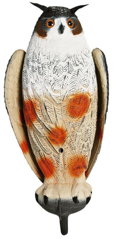 Decoy, owl - W/movable Wings - 60 Cm
