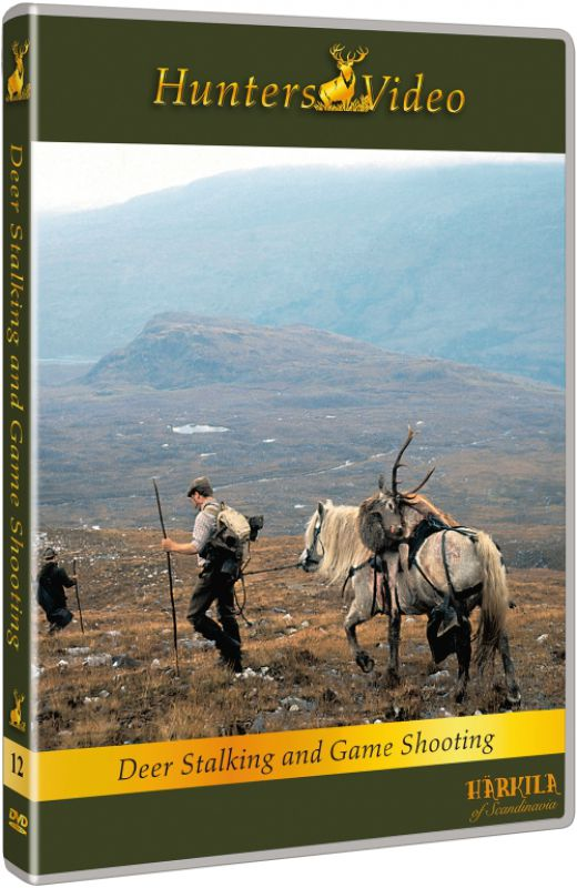 DVD - Deer Stalking In Scotland - DVD Multi Language