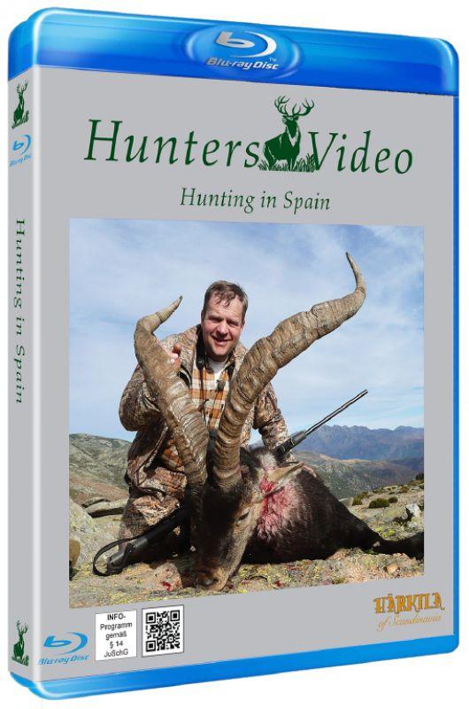 DVD - Hunting In Spain - Blu-Ray Multi Language