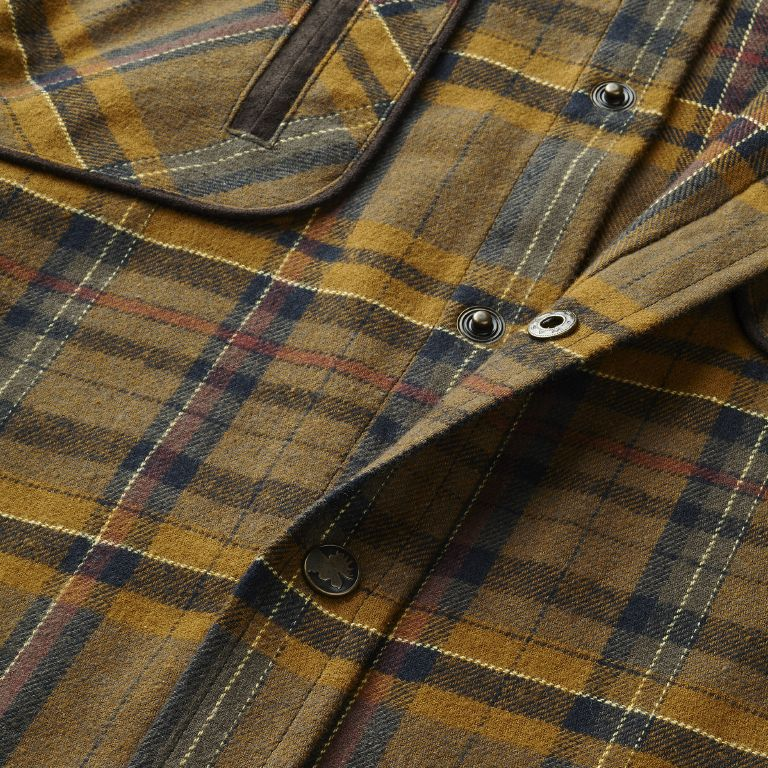 Pajala shirt - Tobacco Check