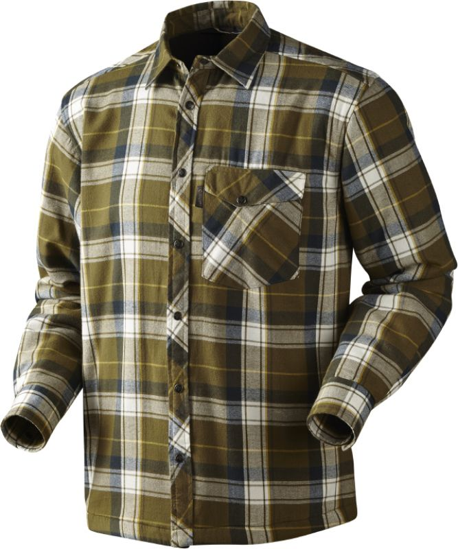 Moscus shirt - Mossy Green Check