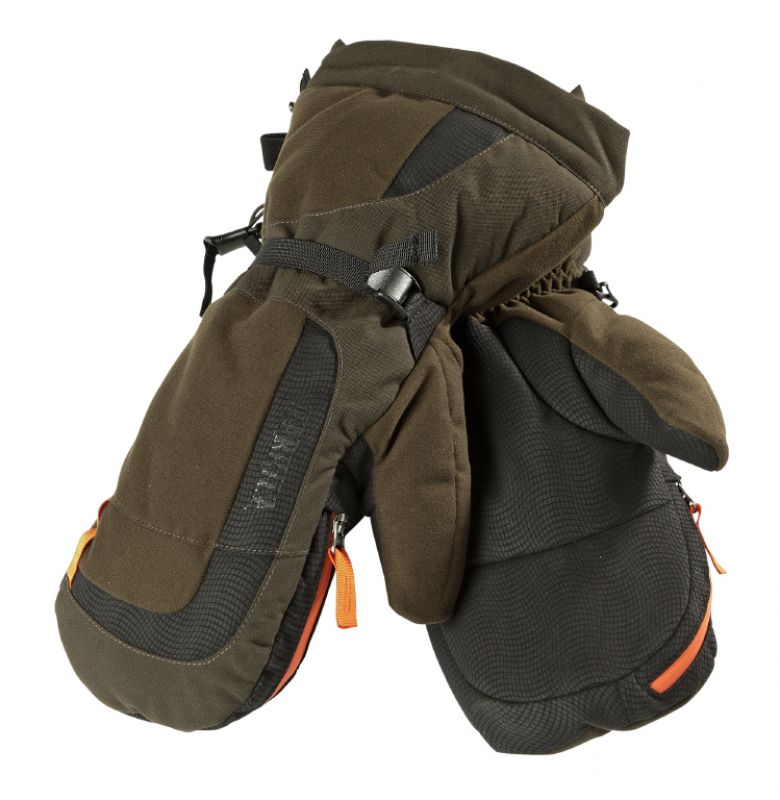 Expedition gloves - Hunting Green/Shadow Brown