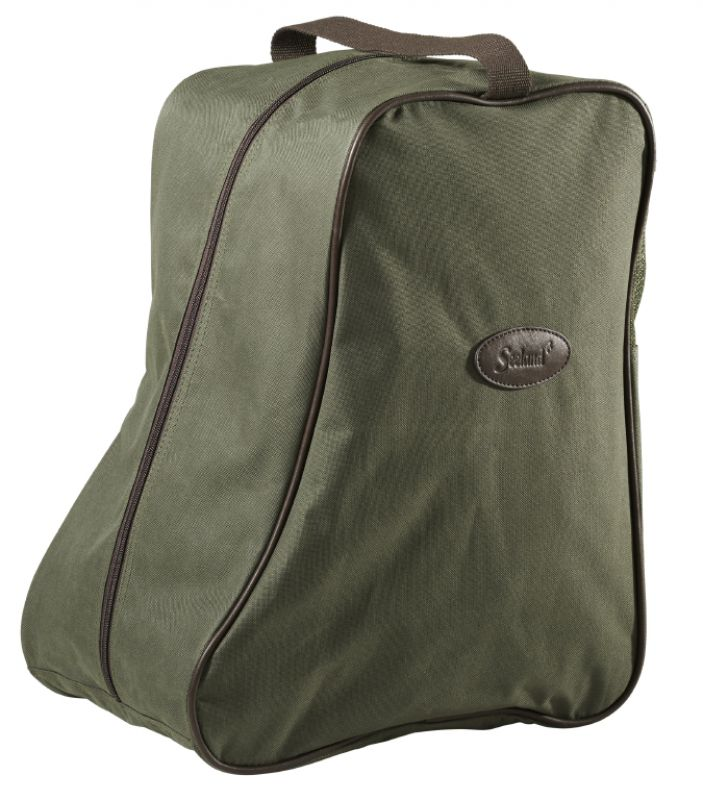 Boot bag, design line - Green/Brown