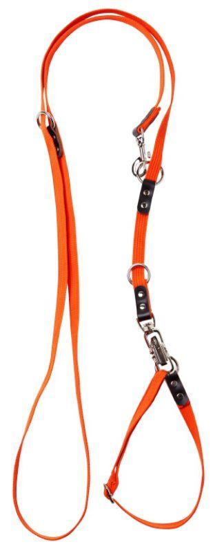 Hunting line, webbing w/quick release - Orange - -