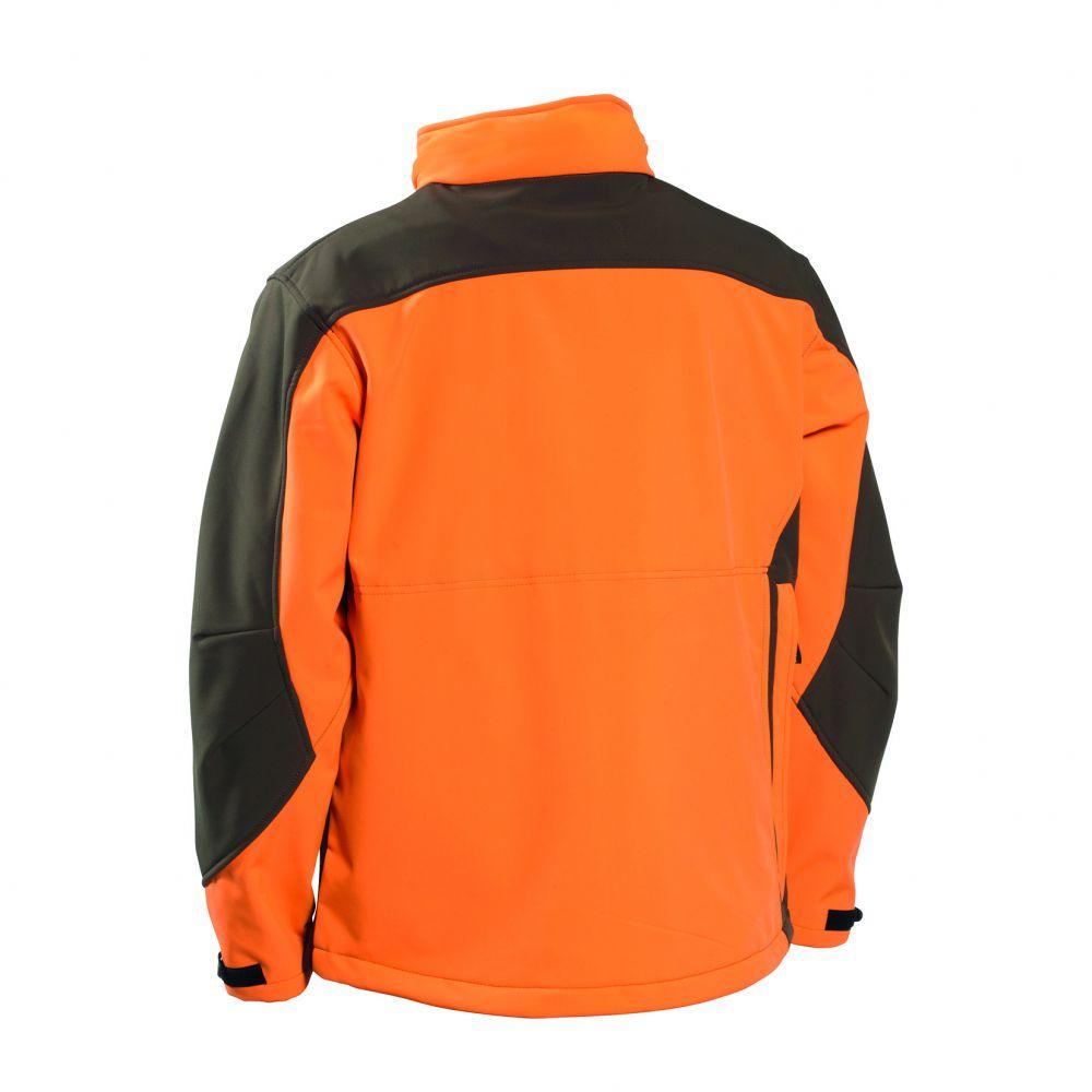 Argonne Softshell Jacket - Orange