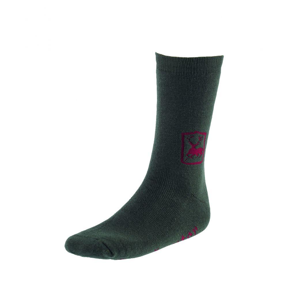 Socks 2-Pack, Short - 20 cm - Green