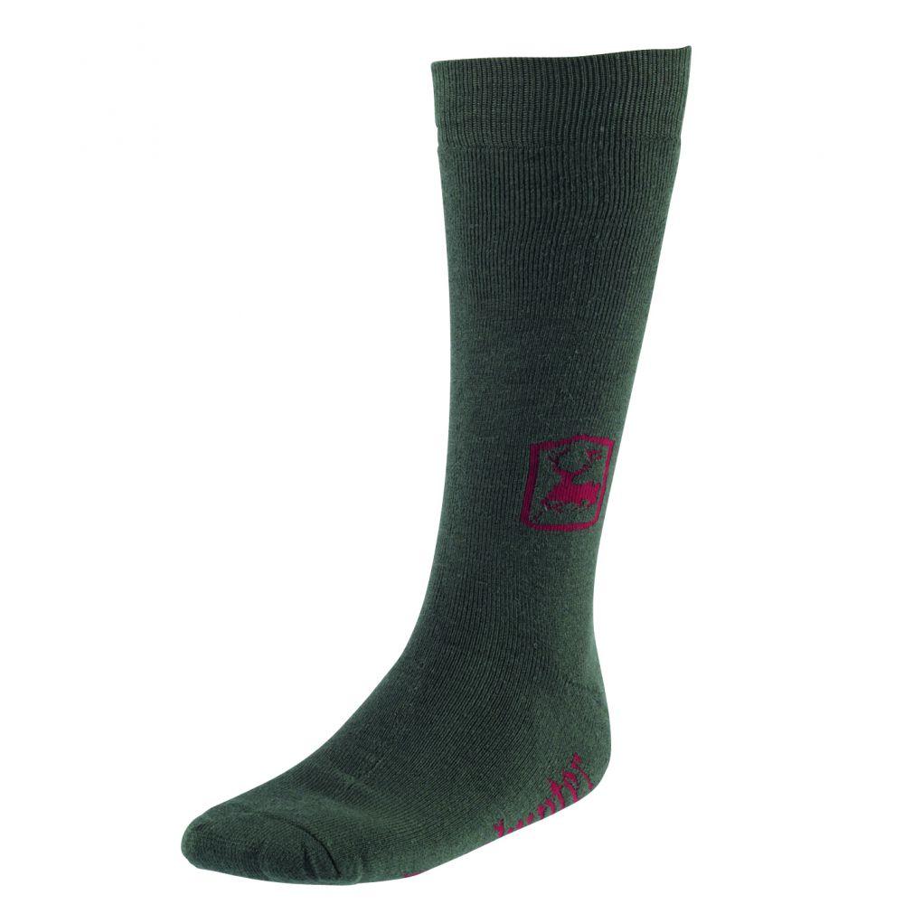 Socks 2-Pack, Long - 40 cm - Green