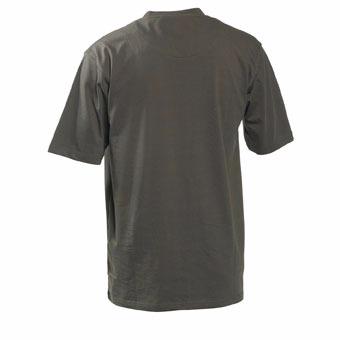 Logo T-shirt S/S - Bark green