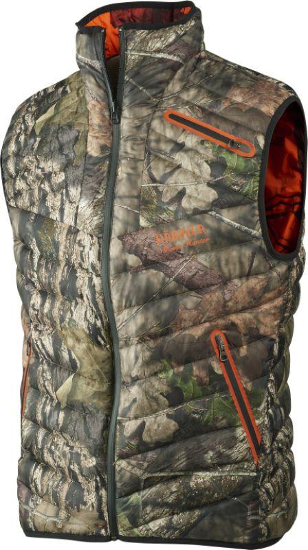 Moose Hunter Reversible down waistcoat - MossyOak®Break-Up Country®/MossyOak®OrangeBlaze
