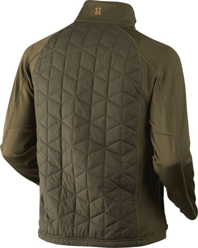 Hjartvar Insulated Hybrid jacket - Willow Green