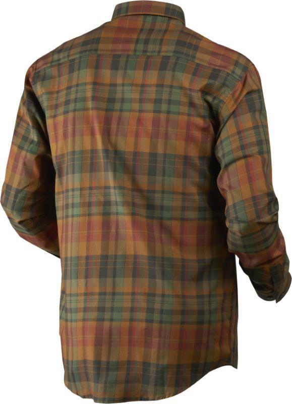 Newton L/S shirt - Spice Check