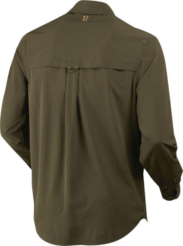 Herlet Tech shirt - Willow Green