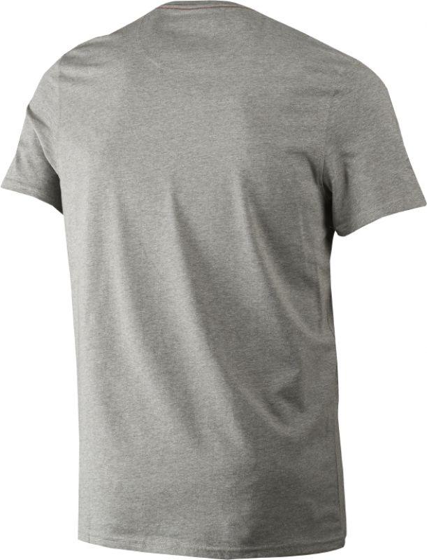 Aiden printed T-shirt - Grey Melange