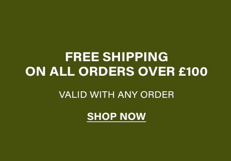 Free UK Delivery with Orders over £100!
