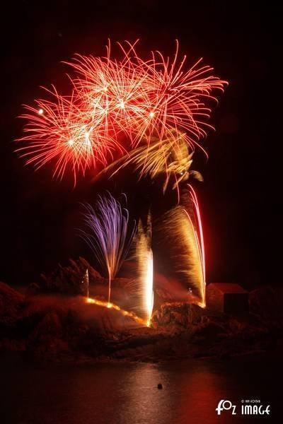 Polperro Firework Display 2020