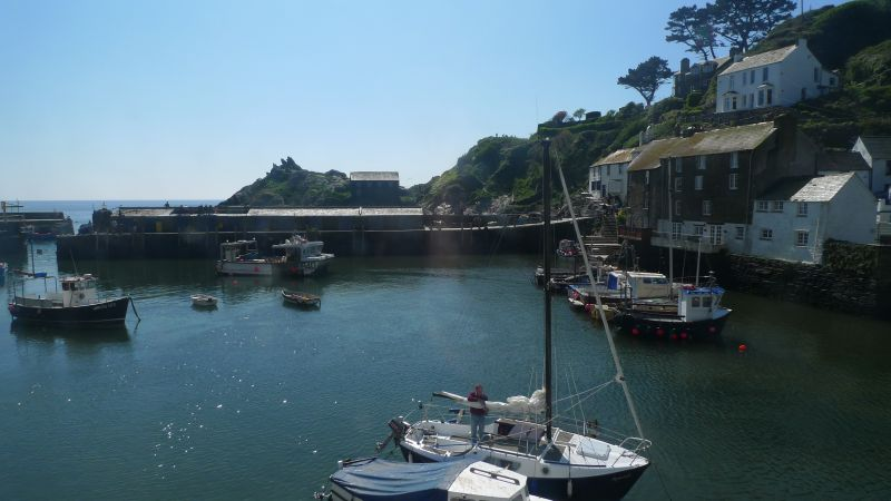 Polperro Thanks you for staying at home this Easter