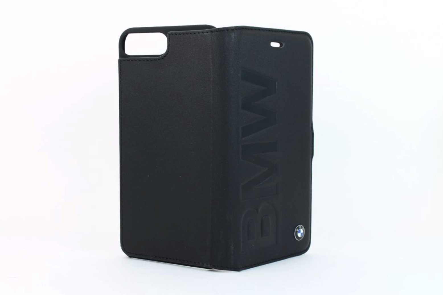 bmw signature iphone 7 plus booktype wallet case debossed. Black Bedroom Furniture Sets. Home Design Ideas