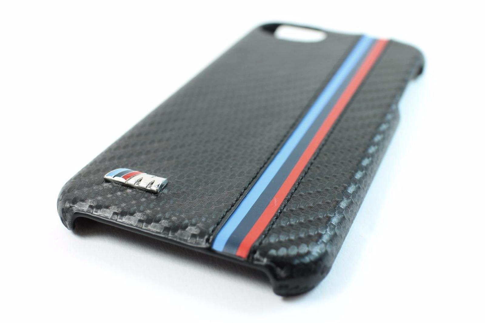 bmw m sport carbon fibre effect iphone 7 case bmhcp7mc. Black Bedroom Furniture Sets. Home Design Ideas