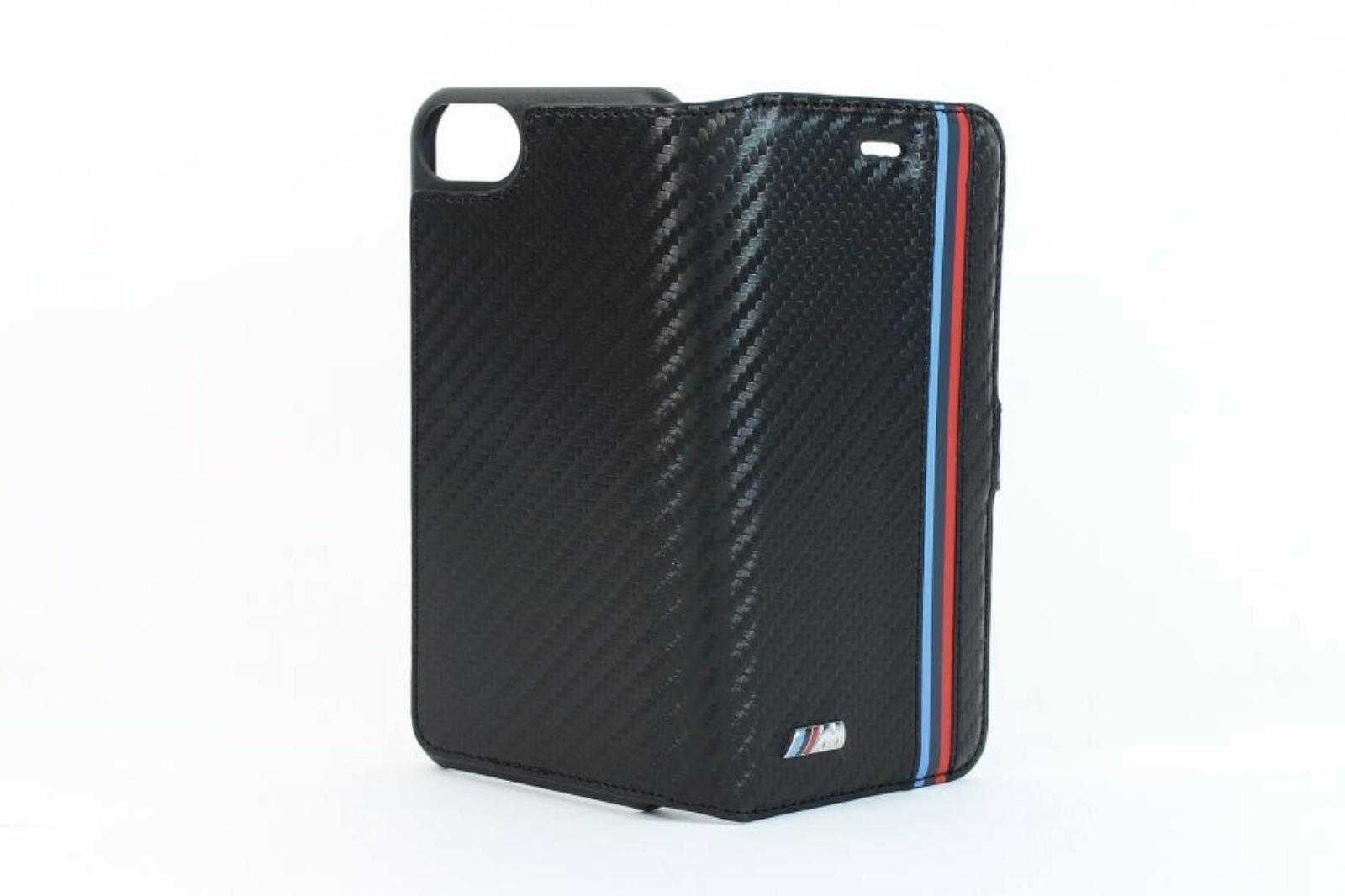 bmw m sport three stripe carbon effect iphone 7 booktype. Black Bedroom Furniture Sets. Home Design Ideas