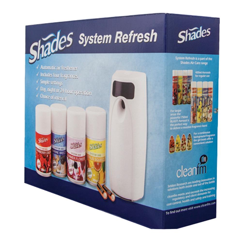 Selden | System 3000 Shades Air Freshener Starter Pack | P033