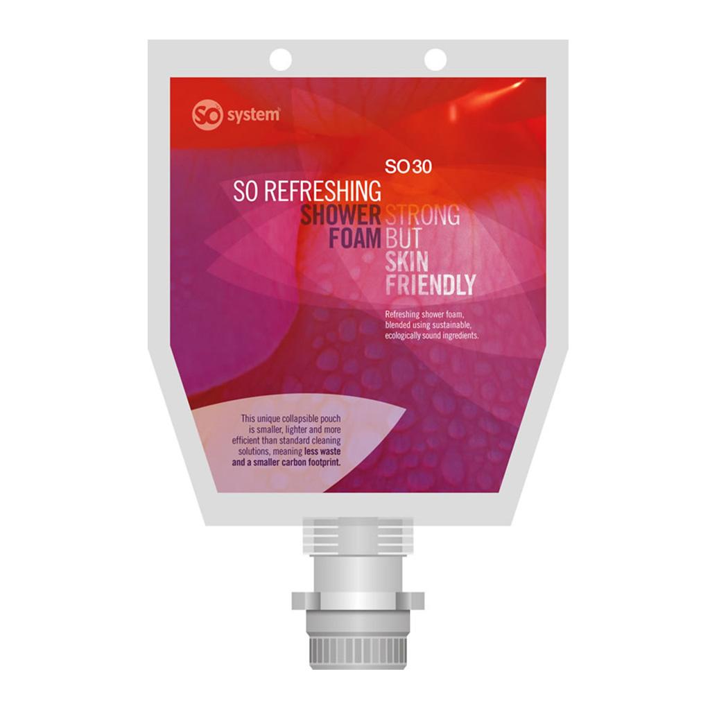 Selden | So Refreshing | Shower Foam | 1 Litre Pouch | S030 | Case of 3