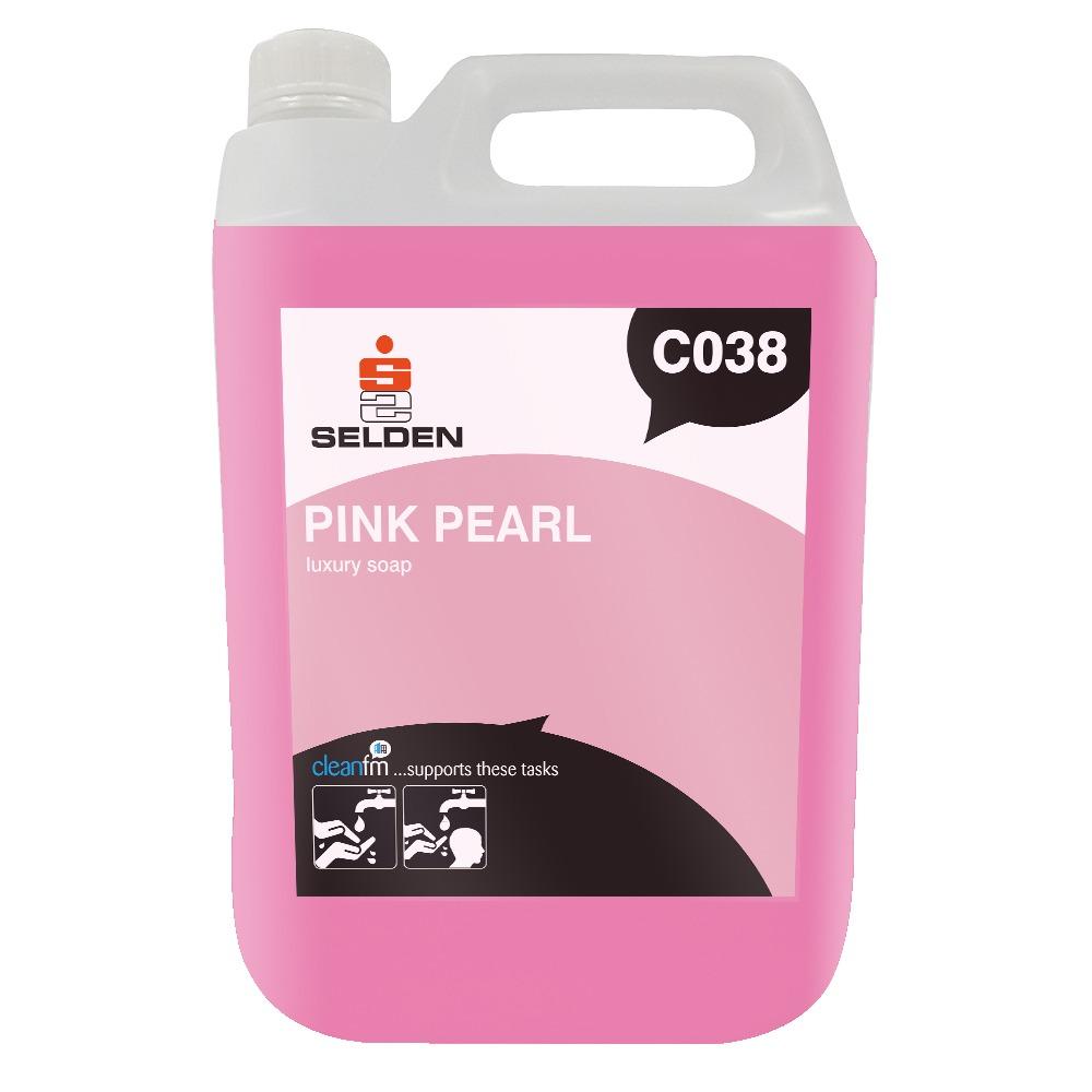Selden | Pink Pearl | Luxury Pearlised Hand Soap | C038