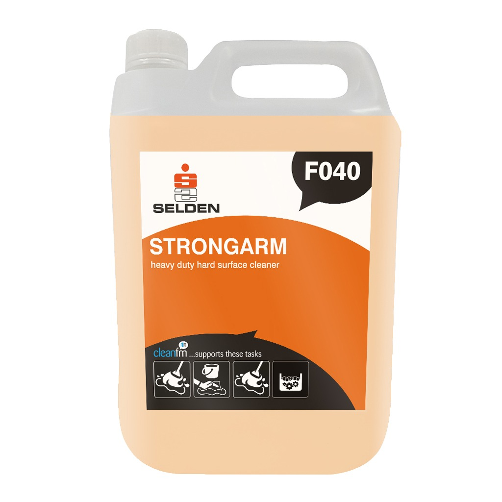 Selden | Strongarm | Heavy Duty Hard Surface Cleaner | 5 Litre | F040