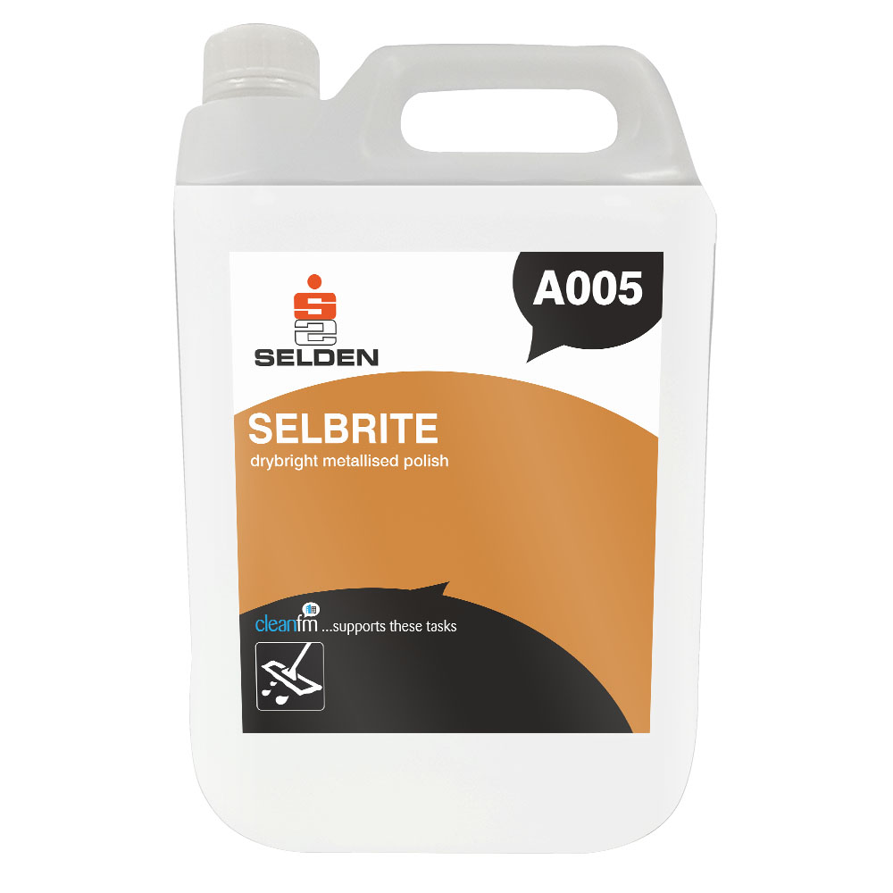 Selden | Selbrite | Metallised Polish | 5 Litre | A005
