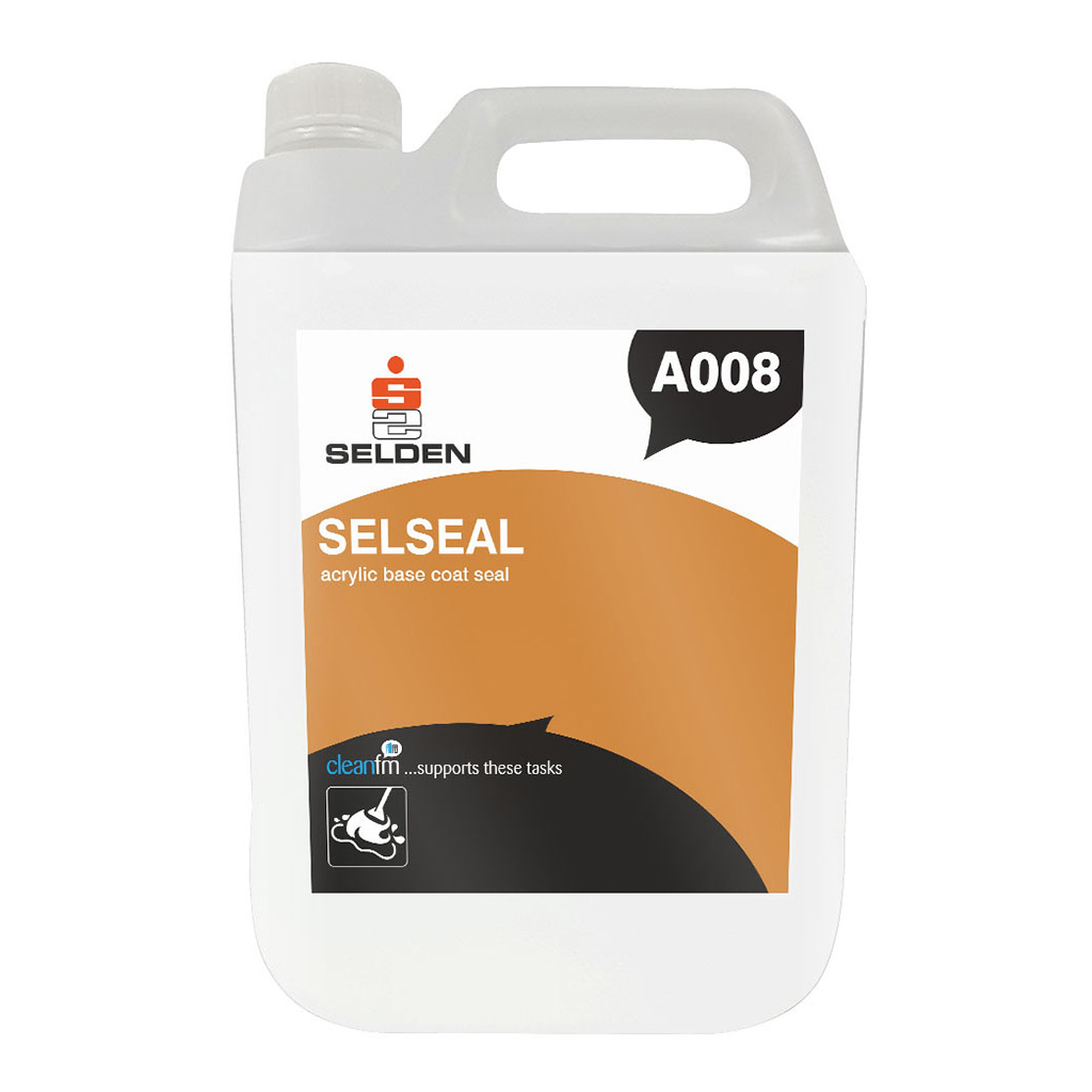 Selden | Selseal | Acrylic Base Coat Seal | 5 Litre | A008