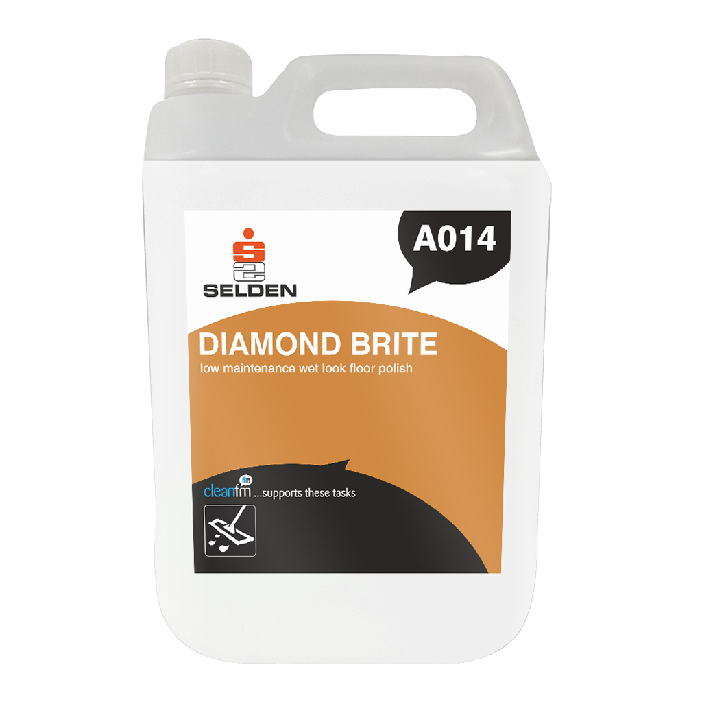 Selden | Diamond Brite | Wet Look Floor Polish | 5 Litre | A014