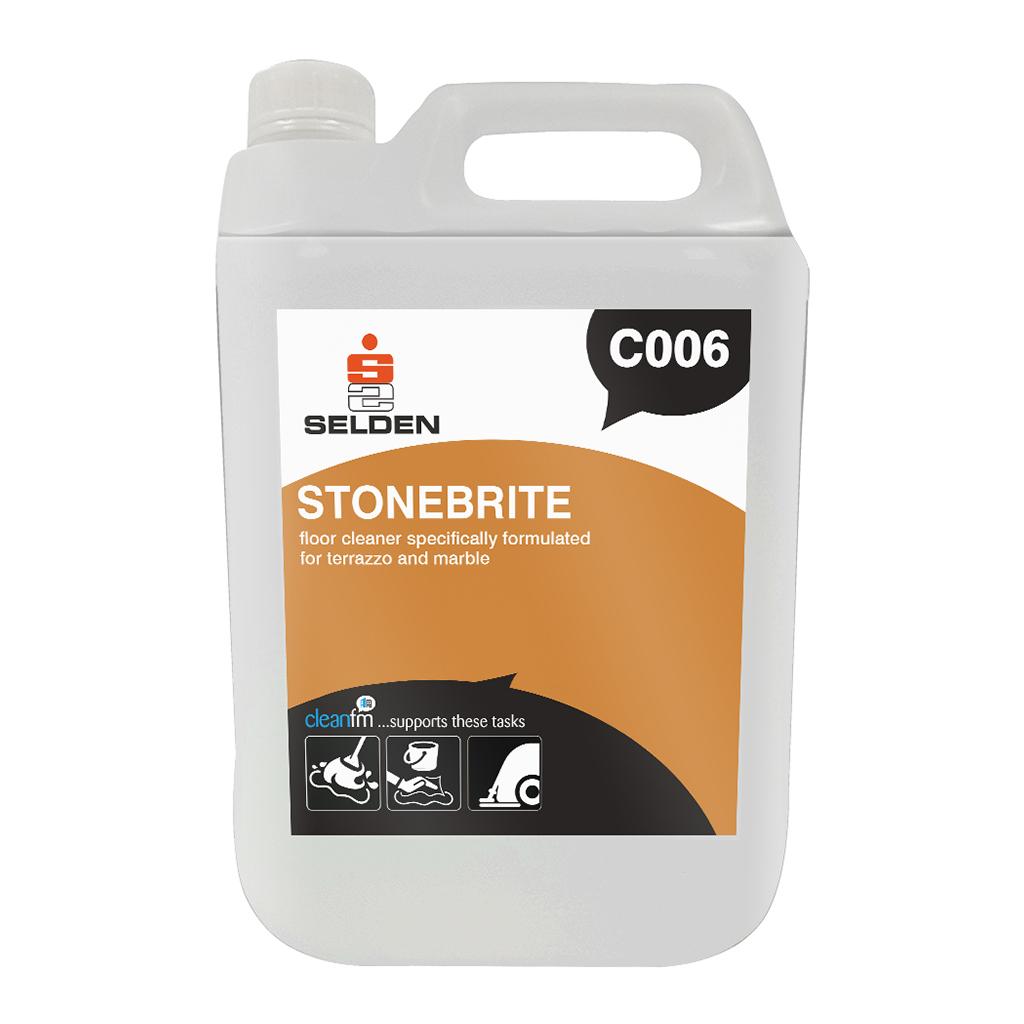 Selden | Stonebrite | Neutral Terrazzo Cleaner | 5 Litre | C006 | Case of 2