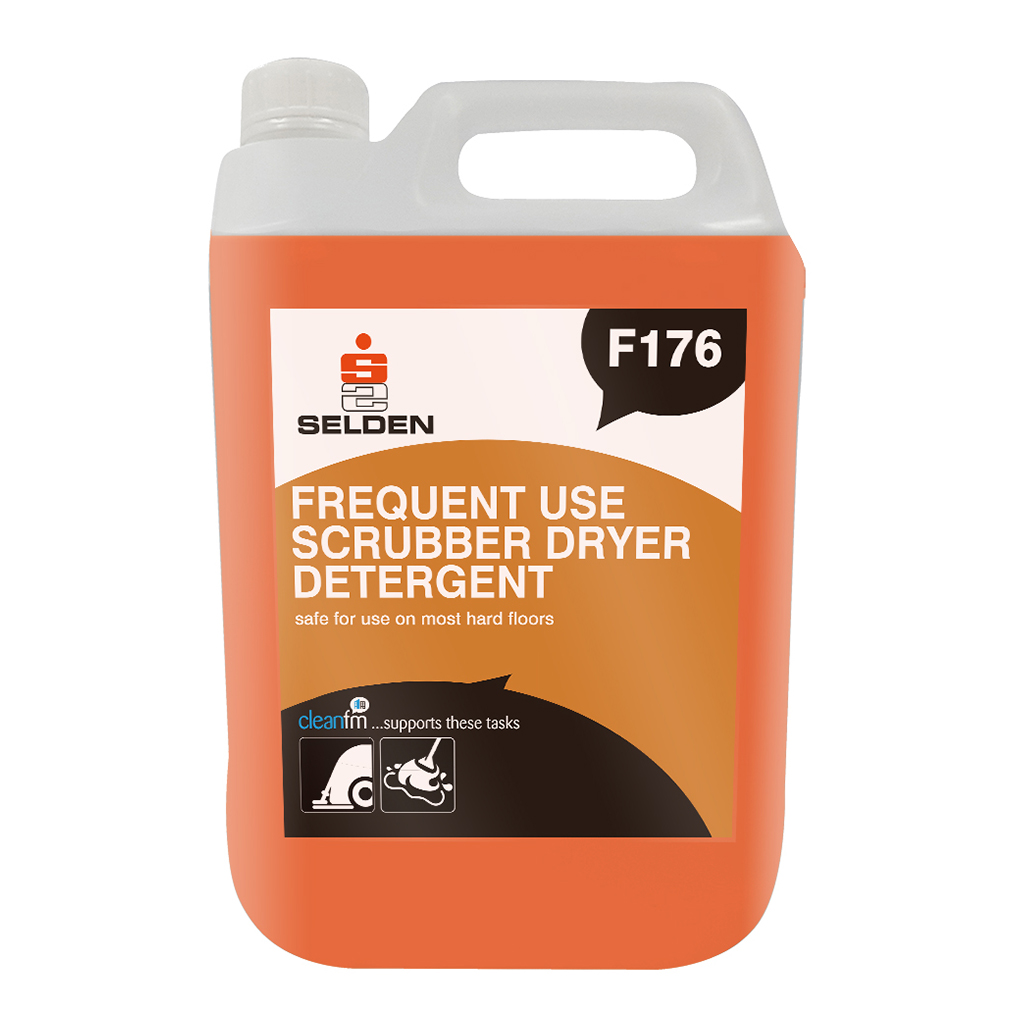 Selden | Frequent Use Scrubber Drier Detergent | 5 Litre | F176