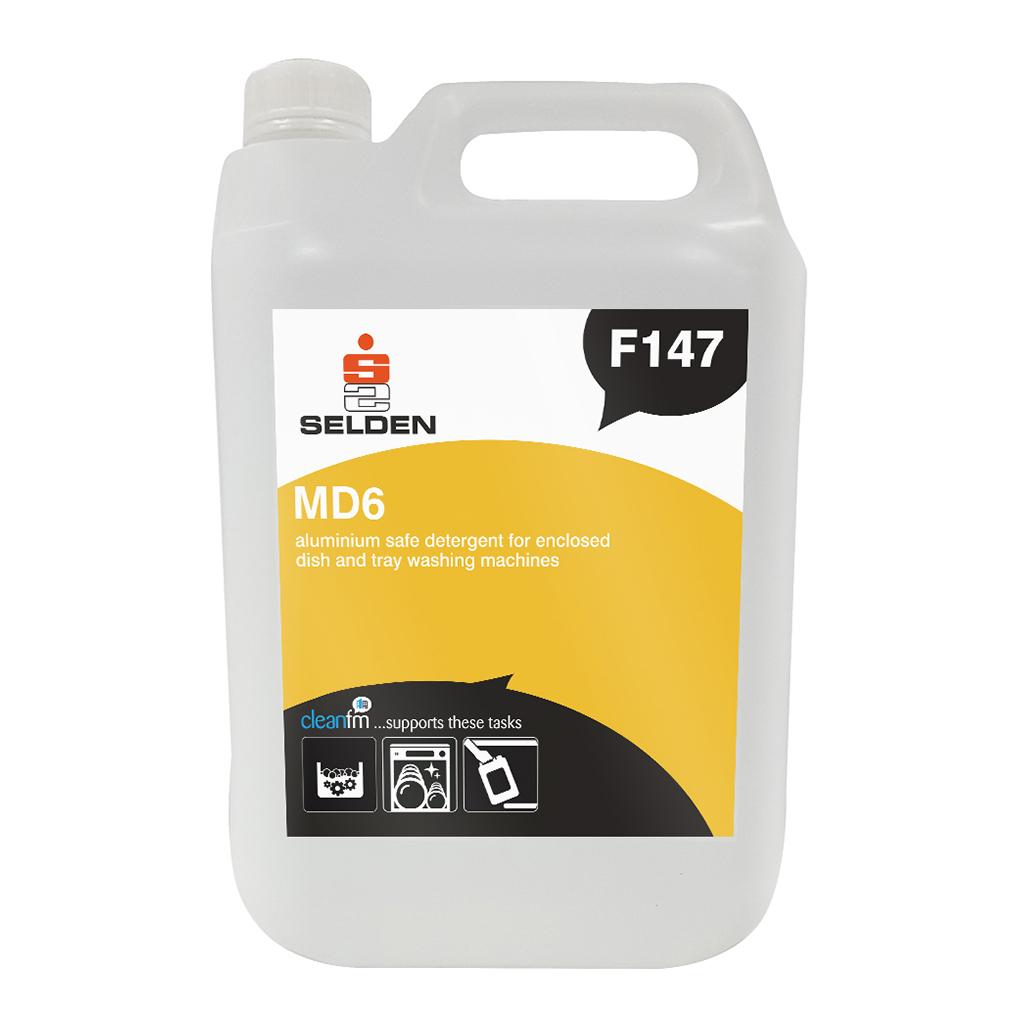 Selden   MD6   Aluminium Safe Tray Wash  Detergent   F147   Case of 2