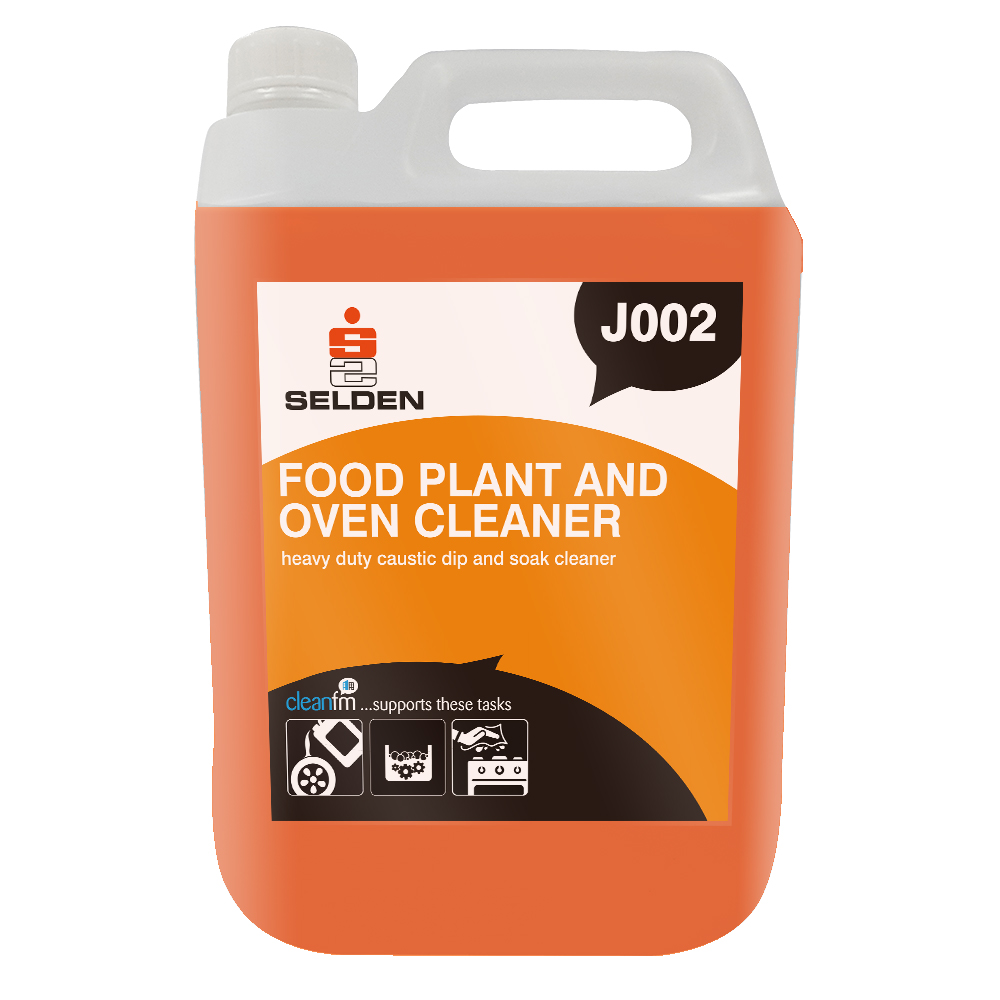 Selden | Food Plant & Oven Cleaner | S20 | 5 Litre | J002