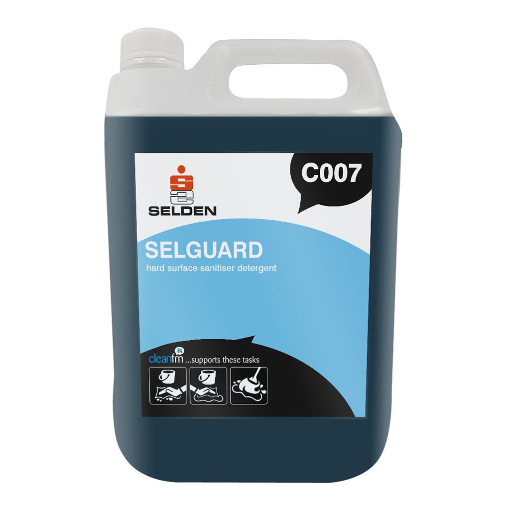 Selden | Selguard | Hard Surface Sanitiser Detergent | 5 Litre | C007