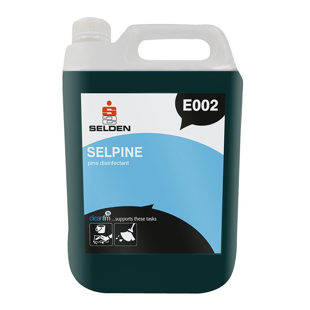 Selden | Selpine | Pine Disinfectant Fluid | 5 Litre | E002 | Case of 2