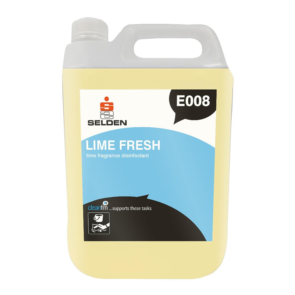 Selden | Lime Fresh Disinfectant | 5 Litre | E008