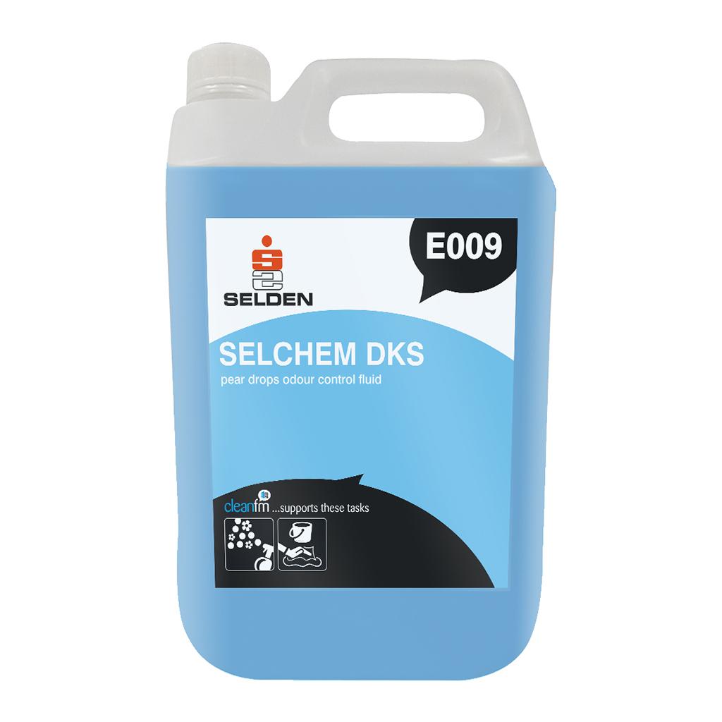 Selden | Selchem DKS | Pear Drops Odour Control Fluid | 5 Litre | E009
