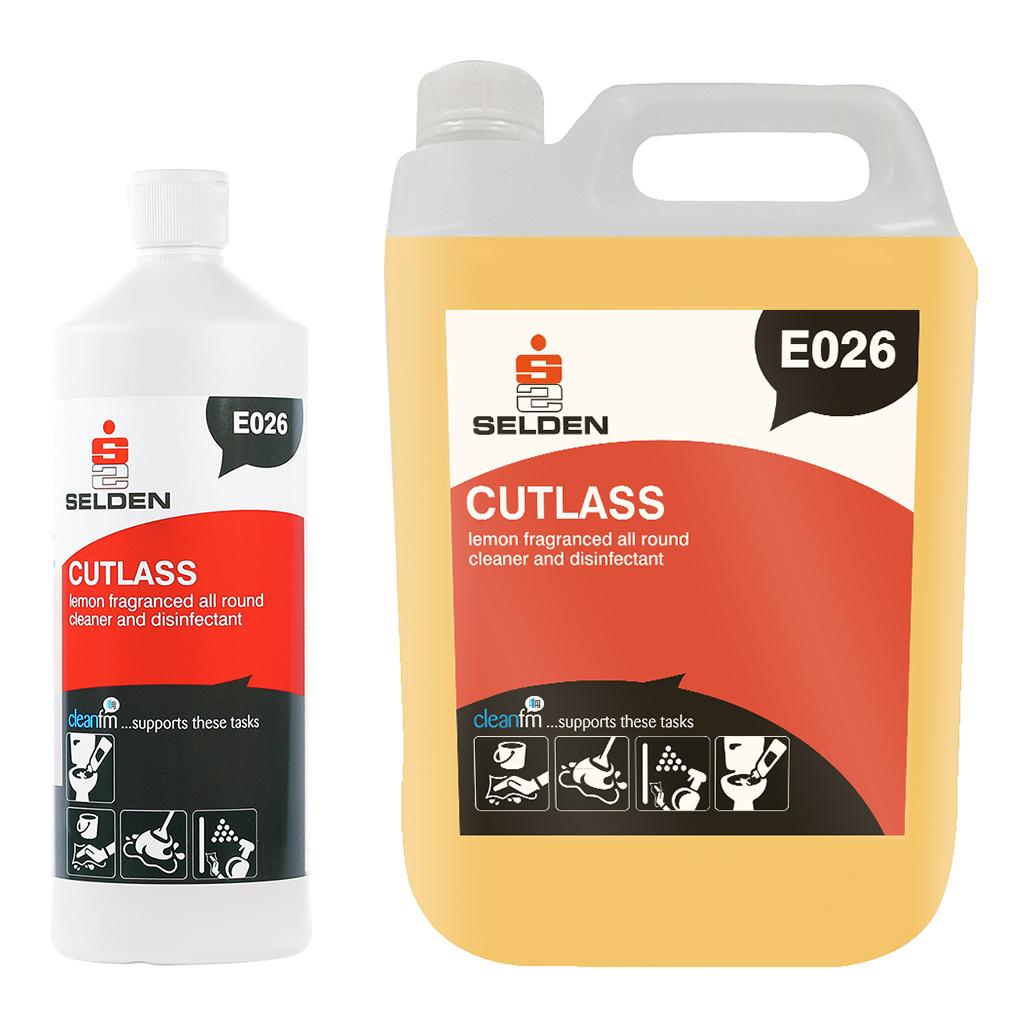 Selden | Cutlass | Washroom Cleaner & Disinfectant | E026